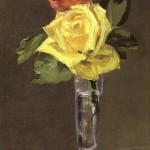 Edouard_Manet_-_Roses_in_a_Champagne_Glass_(13412514503)